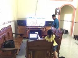 Lắp đặt dàn karaoke gia đình 40 triệu tại Phước Tân, Biên Hòa (BMB 2000C, Crown T7, BCE 9200+, BBS B900)