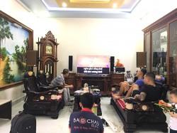 Lắp đặt dàn karaoke gia đình hơn 33 triệu cho anh Nam tại An Lão, Hải Phòng (Martin Ktwo10, SAE PKM6.5, Listensound FX-9MK, BBS B900, Sub 2000)