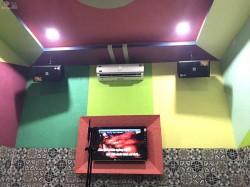 Lắp đặt dàn karaoke kinh doanh cho quán karaoke Yên Ước ở Long An (KES 6100, JBL KX180, Famous 7406, UGX12 Plus, LA 18W, Arirang 3600)