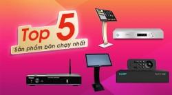 Top 5 Đầu karaoke hay bán chạy nhất tháng 3/2019