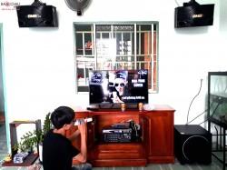 Bộ dàn karaoke BMB của gia đình anh Hiệp ở Biên Hoà (BMB 500SE, Sub 1000, 303E Classic, U900 Plus, Hanet 1TB)