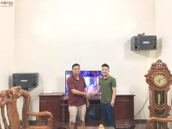 Bộ dàn karaoke BMB của gia đình anh Hùng ở Hải Dương (BMB 2000C, Famous 3208, Bf Audio K7, BCE UGX12)