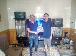 Bộ dàn karaoke BMB của gia đình anh Khoa ở Kiến An, Hải Phòng ( BMB 880C, SAE CT6000, FX 9MK, U900 Plus)