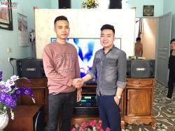 Bộ dàn karaoke BMB của gia đình anh Tuấn ở Hải An, Hải Phòng (BMB 880C, Sub 2000, UGX12, BF k6, SAE Ct6000)