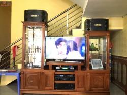 Bộ dàn karaoke của gia đình anh Nhì ở Việt Yên, Bắc Giang ( BMB 880C, DP 9200+, SAE CT6000, BCE UGX12)