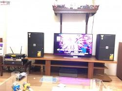Bộ dàn karaoke JBL cao cấp của gia đình anh Năm ở Cầu Giấy ( KES 6120, JBL X6, KX 180, BCE VIP 3000, Plus 4TB)