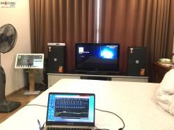 Bộ dàn karaoke JBL cao cấp của gia đình anh Nam ở Vinhome ( JBL KES 6120, Crown T7, KX180, Việt KTV Plus 4TB, UGX12 Plus)