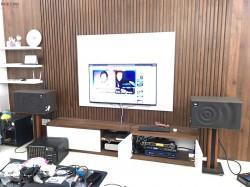 Bộ dàn karaoke JBL của gia đình anh Sơn ở Biên Hoà ( JBL Mk12, DP 9200+, Crown T5, UGX12 Gold)