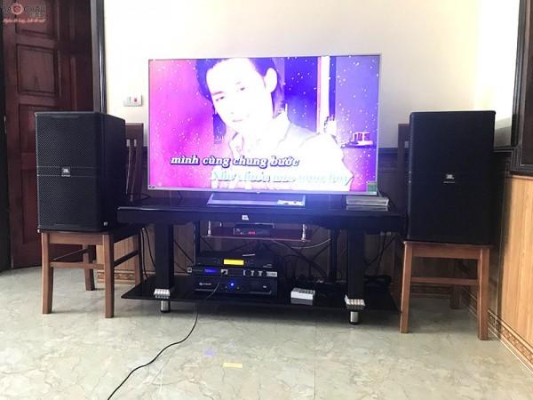 Bộ dàn karaoke JBL của gia đình anh Thư ở Phú Thọ
