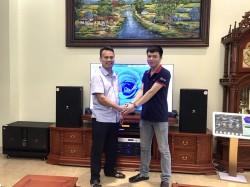 Bộ dàn karaoke JBL VIP của gia đình anh Tuấn ở Bắc Ninh ( KP 4012, BJ-W66 Plus, BCE 9200, Crown T7, Plus 4TB, UGX12 Plus)