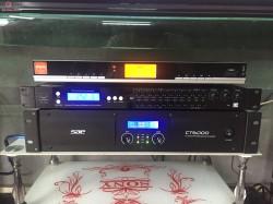 Dàn karaoke Domus của gia đình anh Ngân ở Thuận Thành, Bắc Ninh ( Domus 6120, FX-9MK, SAE CT6000, BBS B900)