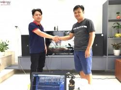 Dàn karaoke JBL cao cấp của gia đình anh Khoa ở Biên Hoà (JBL 4012, JBL X6, JBL KX180, BCE UGX12 Gold, Sub 2000)