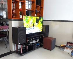Dàn karaoke JBL của gia đình anh Dũng ở Long Thành, Đồng Nai ( JBL MK12, 1506 bluetooth, U900 Plus, Arirang ASIII)
