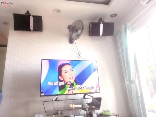 Dàn karaoke JBL của gia đình chị Oanh ở chung cư Sunview Town ( JBL Ki 510, 303E Classic, U900 Plus)