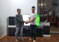 Dàn karaoke JBL hơn 20 triệu gia đình anh Thọ ở Đà Nẵng ( JBL Mk12, Arirang ASIII, 203 Gold Bluetooth, SM-8.2)