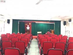 Lắp đặt bộ dàn âm thanh phòng họp cho trường THPT Kim Sơn B ( JBL 6012, Crown T10, KX 180, BBS B900, VIP 6000)