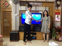 Lắp đặt dàn karaoke BIK cho gia đình anh Huy ở Biên Hoà  (BIK BJ-S886, 604 No8, 1203 Bluetooth , BBS B900, Hanet 2TB)