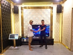 Lắp đặt dàn karaoke vip cho gia đình anh Hải ở Gò Vấp ( KP 4010, BMB 2010C, Famous 7208, Famous 7406, BF k7, UGX12 Plus)