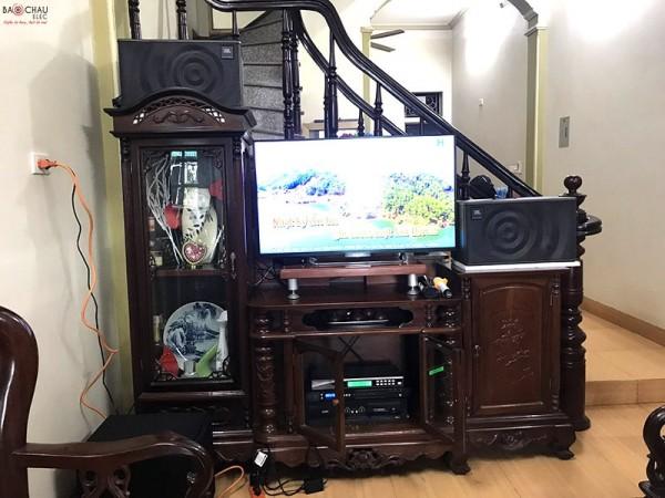 Bộ dàn karaoke JBL của gia đình chú Mạnh ở Long Biên ( JBL MK10, SAE CT3000, FX 9MK, U900 Plus New, R10SW)