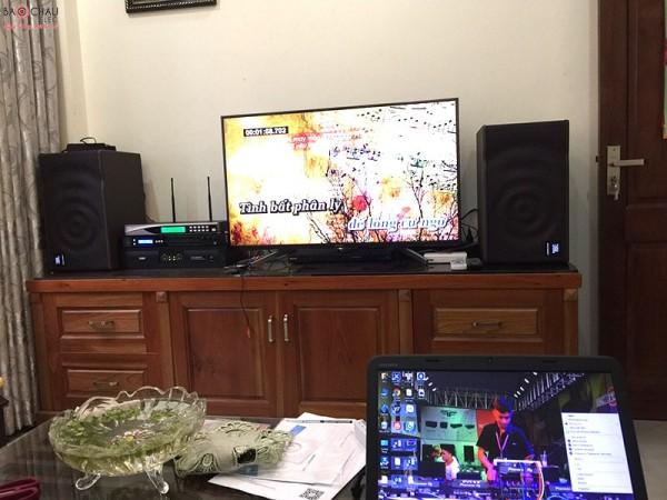 Bộ dàn karaoke JBL của gia đình chú Thành ở Thanh Xuân, HN