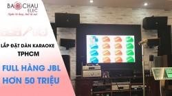 Bộ dàn karaoke JBL cực hay của gia đình anh Thái ở HCM ( KP 6012, KX 180, Crown T7, PGX 999 )