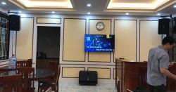 Bộ dàn karaoke JBL nhà hàng của anh Hoàng Anh ở Hàng Bài, HN