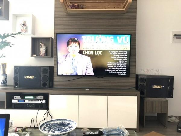 Dàn karaoke BMB trị giá hơn 31 triệu cho gia đình anh Pháp ở Bắc Ninh ( 2000SE, BCE 6200, DSP-9000, UGX12)