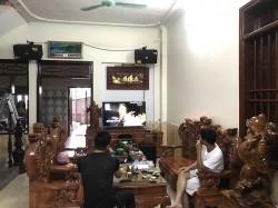 Dàn karaoke JBL của gia đình anh Tuấn ở Hưng Yên ( KES 6120, SPL120, KX 180, JBL X8, Plus 4TB, UGX12)