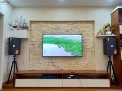 Dàn karaoke JBL của gia đình chị Hảo ở Hà Nội (KES 6100, T3, BCE 9200, VIP 3000 )