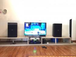 Dàn karaoke JBL trị giá 60 triệu của gia đình anh Nam ở chung cư An Sinh ( KP 4012, Crown T7, KX 180, UGX12, Plus 4TB)