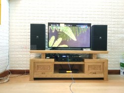 Dàn karaoke JBL trị giá hơn 40 triệu của gia đình anh Tuyên ở Quận 9 ( KP 4010, CT6000, KX180, UGX12)