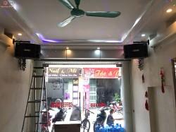 Dàn karaoke VIP của gia đình anh Tuấn ở Thái Nguyên ( BMB 2000C, VF 218, Catking Q10, KX180, Lexpro PQM13)