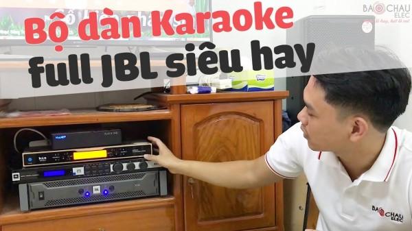 Lắp đặt dàn karaoke JBL trị giá 63 triệu cho gia đình ở Biên Hoà ( KP 4010, R112SW, KX 180, JBL X4, Hanet 1T, UGX12 Gold)