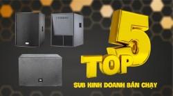 Top 5 loa Sub dùng cho phòng karaoke kinh doanh hay nhất hiện nay