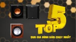 Top 5 loa Sub karaoke gia đình bán chạy nhất tháng 4/2019 tại Bảo Châu Elec
