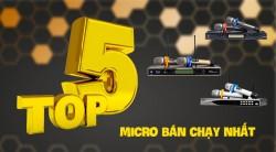 Top 5 micro không dây hát hay, giá tốt