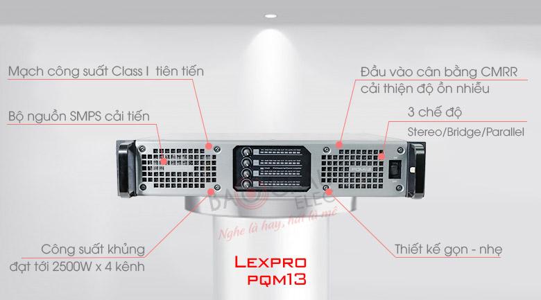 Cục đẩy SAE Lexpro PQM13 tính năng 1