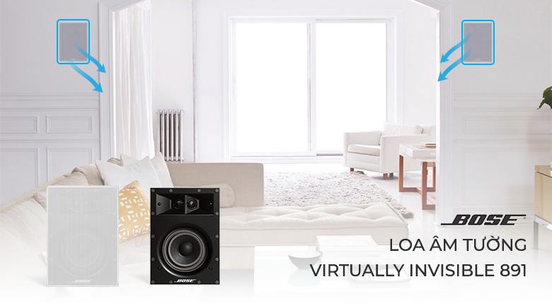 Loa Bose Âm Tường Virtually Invisible 891 chính hãng