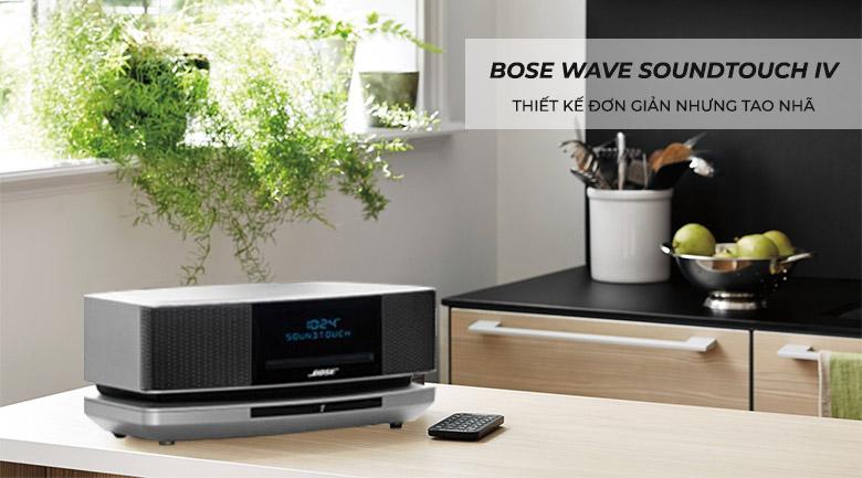 Loa Bose Wave SoundTouch IV, bạc