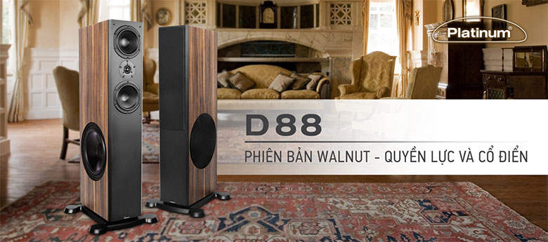 Loa Paramax Platinum D88 (Walnut)