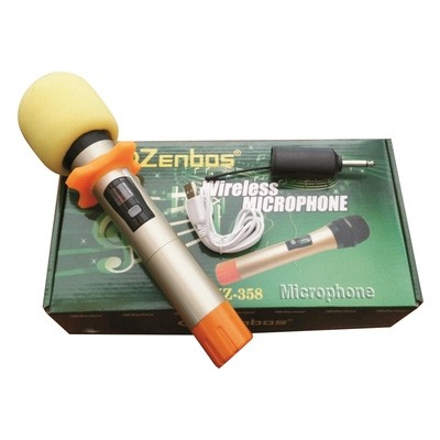 Micro không dây Zenbos MZ-358
