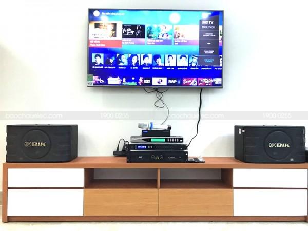 Bộ dàn karaoke BIK của gia đình anh Sánh ở Tân Bình ( BIK 668, CT3000, 9MK, U900 Plus New)