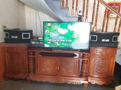Bộ dàn karaoke BMB của gia đình anh Việt ở Hoằng Hoá, Thanh Hoá (BMB 450SE, SAE CT6000, DSP 9000, U900 plusx)