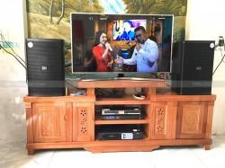 Bộ dàn karaoke gia đình anh Quân ở Phường Thống Nhất (Domus 6120, Famous 3206, FX 9MK, BBS B900)