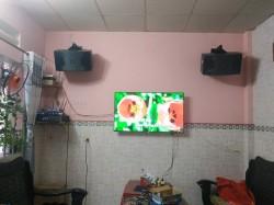 Bộ dàn karaoke JBL của gia đình chị Thắm ở Hóc Môn ( JBL Ki 310, JBL KX180, JBL X4)