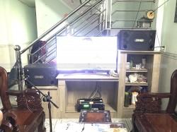 Dàn karaoke BMB của gia đình anh Duy ở Phước Tân, Biên Hoà (BMB 2000C, Famou 3206, BF K6, BBS B900)
