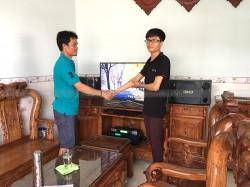 Dàn karaoke BMB của gia đình anh Hùng ở Trảng Dài, Đồng Nai (BMB 880C, SAE CT6000, BCE UGX12, BF K6)