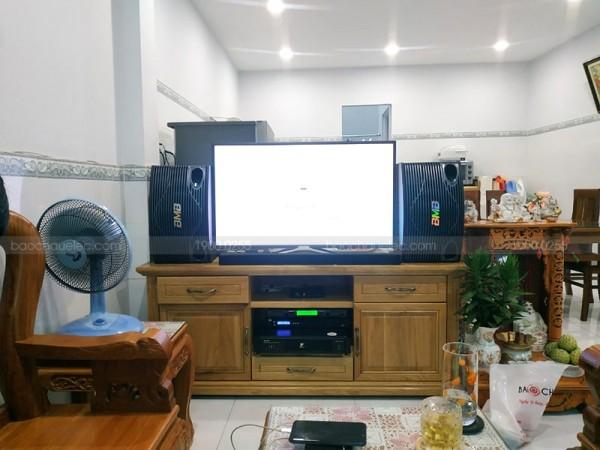 Dàn karaoke BMB của gia đình anh Lương ở Bình Tân (BMB 500SE, DH600, FX 9MK, BCE U900 PlusX)