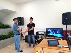Dàn karaoke cao cấp cho gia đình anh Việt Anh ở Cần Giờ, HCM ( BF CT-12, BCE 8200, X5 Plus, BJ-W66 Plus, SAE CT6000, Hanet 4TB, UGX12 Gold)