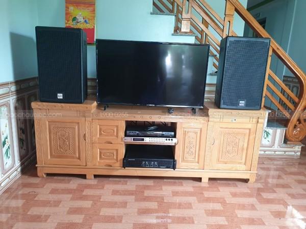 Dàn karaoke của gia đình anh Long ở Hoằng Lý, Thanh Hoá (Alto AT2000, U900 Plus X, TX650Q, U900 Plus X)